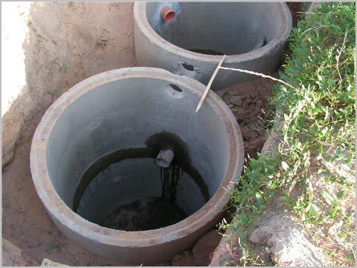 канализация без откачки своими руками