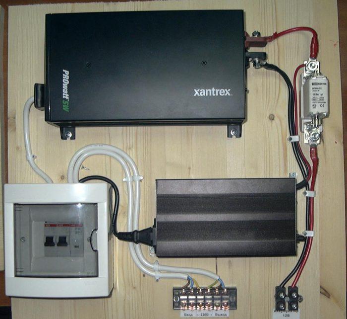 Xantrex система бесперебойного отопления