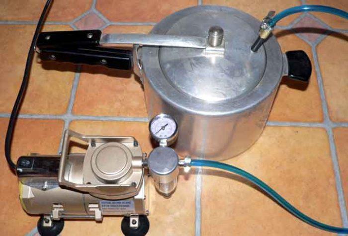 как сделать вакуумный насос из компрессора