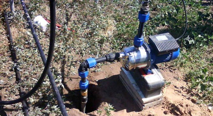 водяные насосы для скважин поверхностные