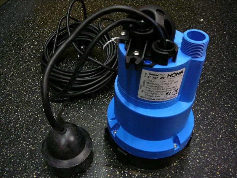 Насос для перекачки канализации в домашних условиях