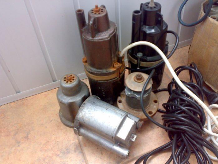 ремонт погружных насосов