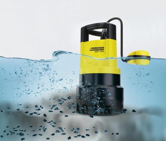 откачка воды из подвала