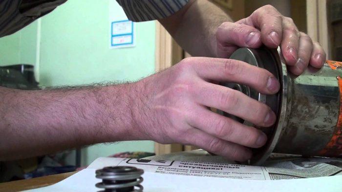 ремонт фекального насоса