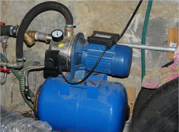 как подключить насосную станцию к водопроводу