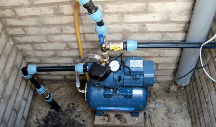 как подсоединить насосную станцию к водопроводу
