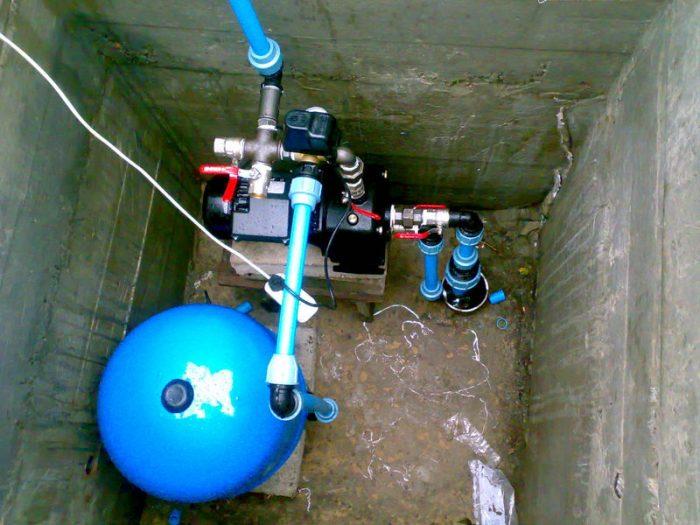 насос не качает воду из скважины