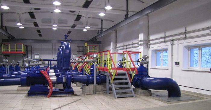 повысительная насосная станция водоснабжения