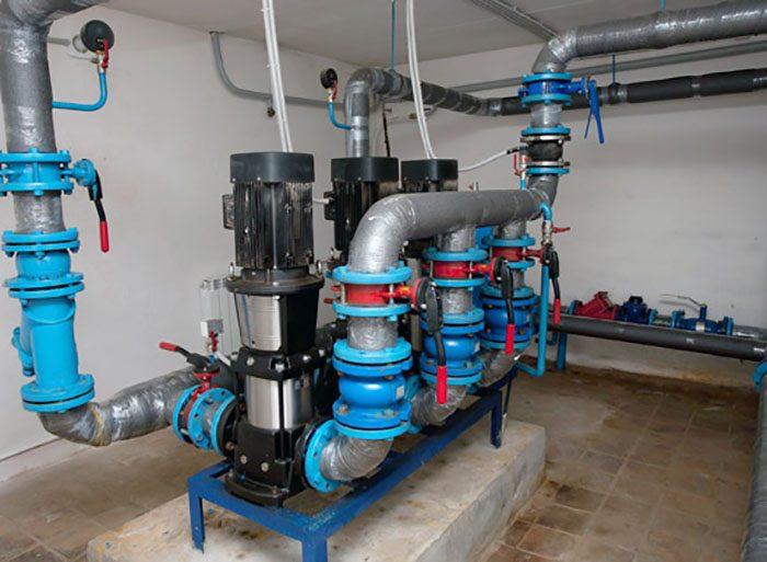 повысительные насосные станции водоснабжения