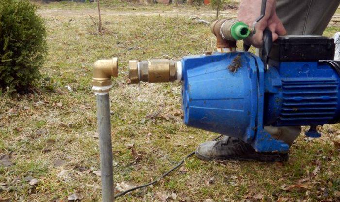 вакуумный насос для откачки воды