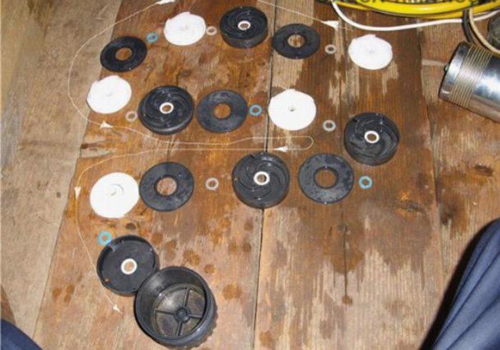 ремонт погружного центробежного насоса своими руками