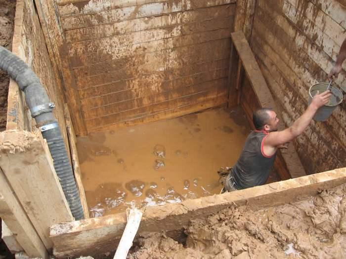 канализация при грунтовых водах