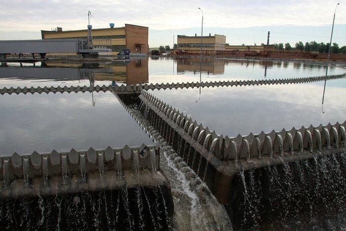 отстойники для воды