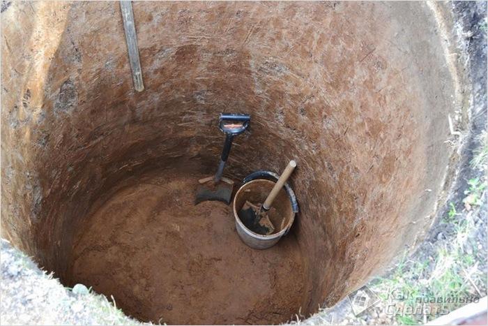 не уходит вода в выгребной яме