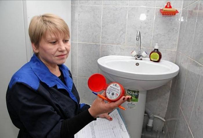 Как сделать проверку счетчика на холодную воду