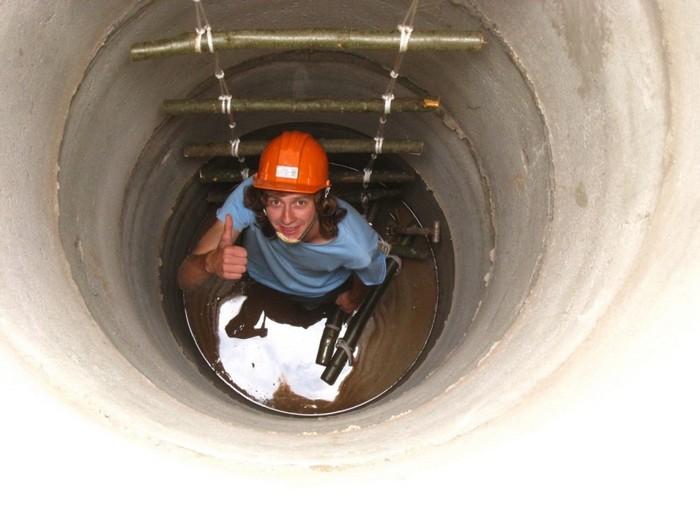 лестница канализационная