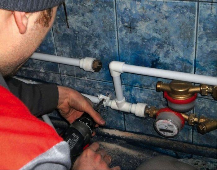 коммунальная квартира счетчики воды