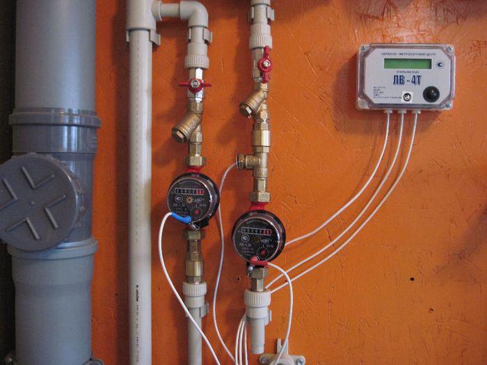 счетчики для горячей воды