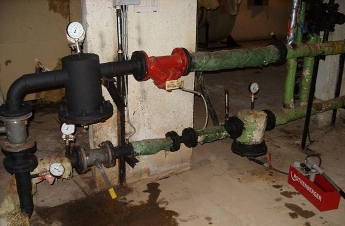 акт гидравлического испытания канализации