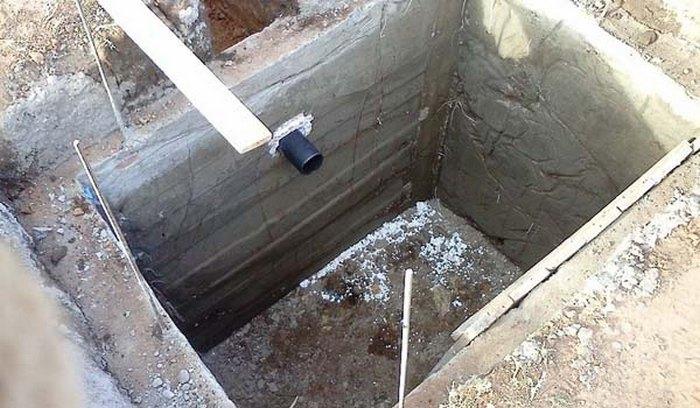 выгребная яма в частном доме