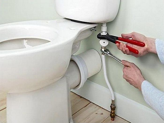 Подключение унитаза гофрой к канализации