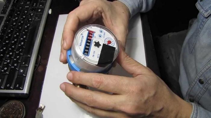 что такое антимагнитная лента на водяной счетчик