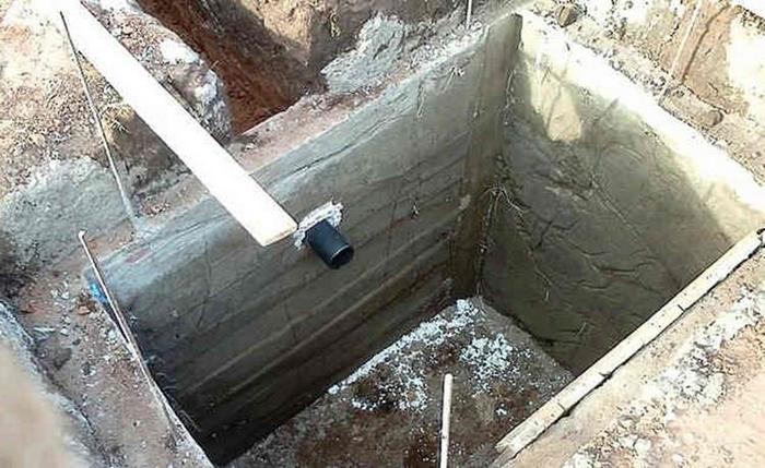 канализация при высоких грунтовых водах
