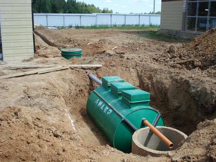 канализация для коттеджей