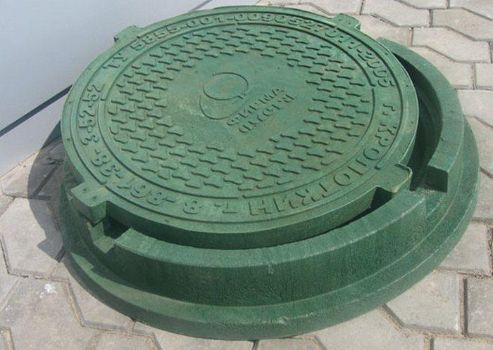 крышка люка канализационного