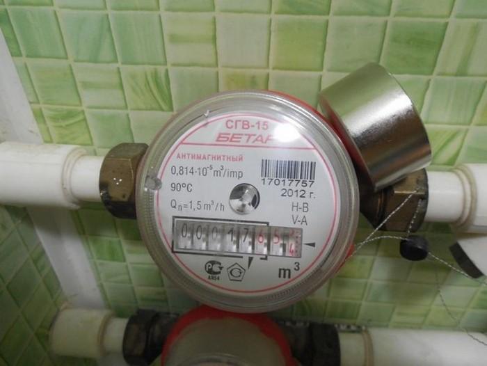 магниты для счетчиков воды бетар