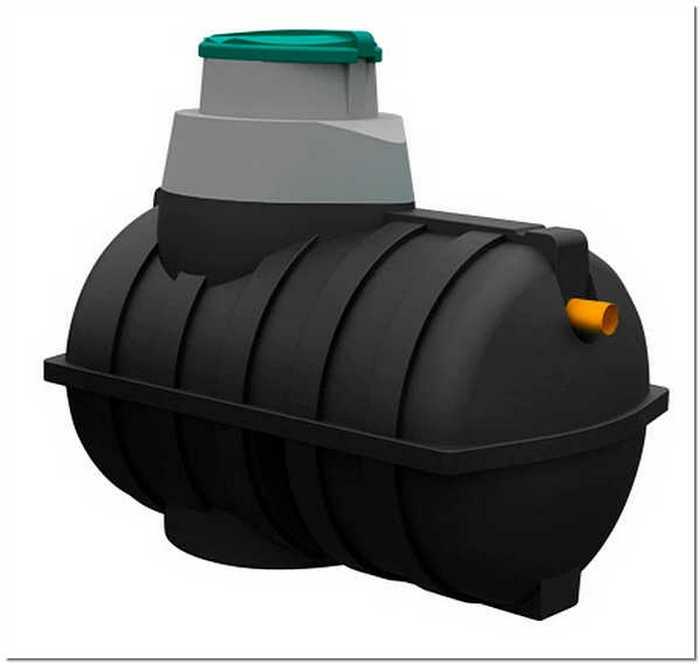 пластиковые емкости для канализации