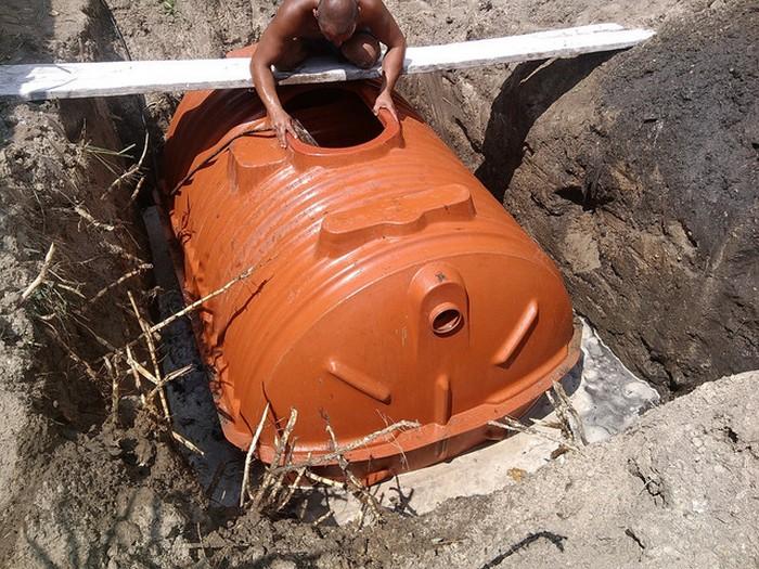 канализация для высоких грунтовых вод