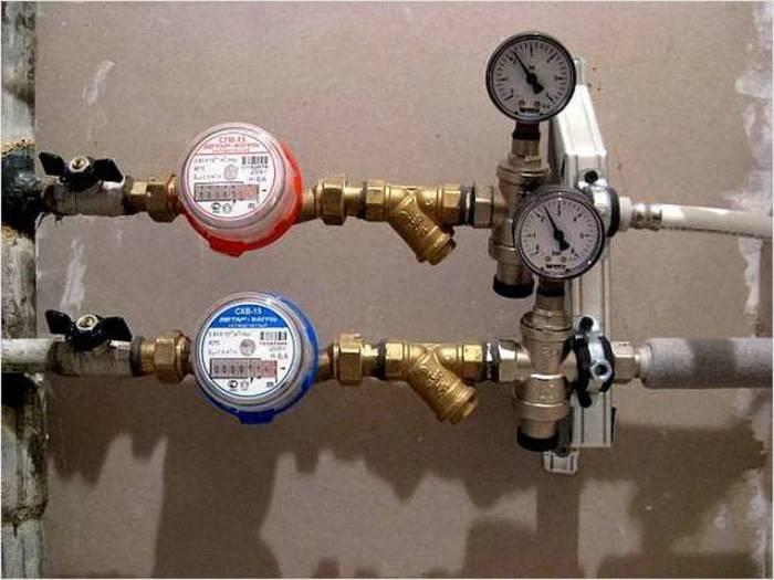 установка счетчиков воды своими руками