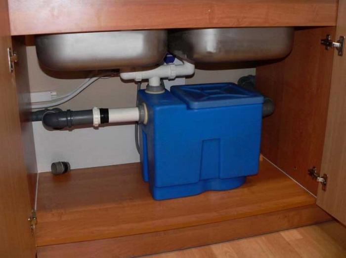 канализация жироуловитель