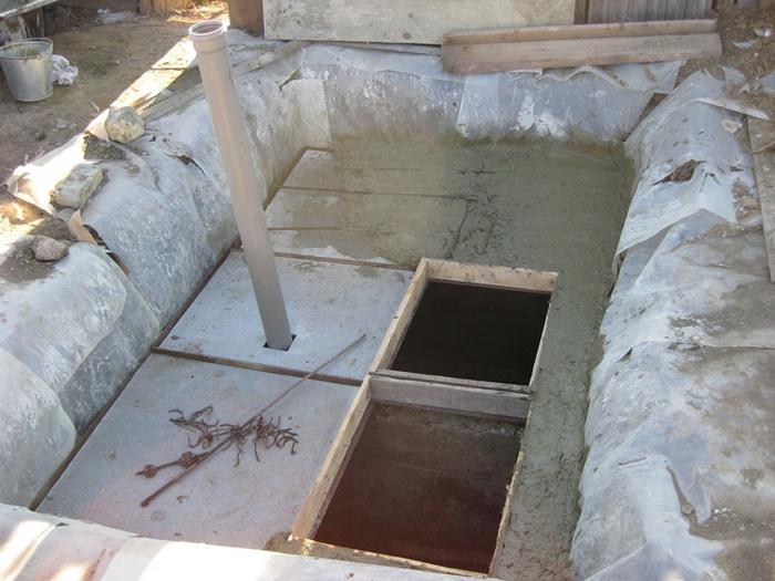 автономная канализация на дачу