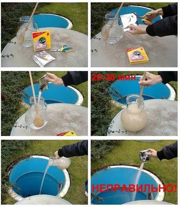 бактерии в канализацию