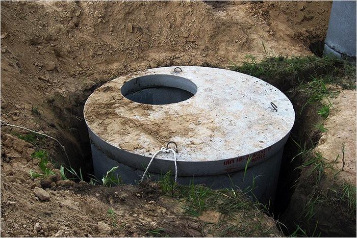 Сливная яма без откачки