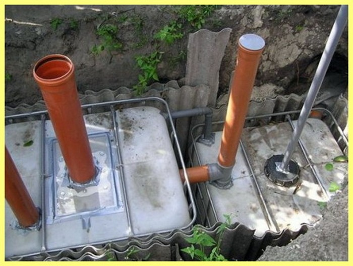 канализация для дома без откачки