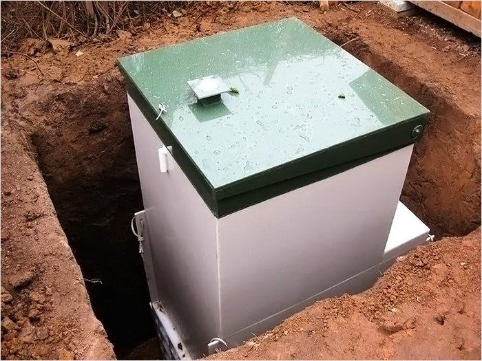 установка автономной канализации на даче