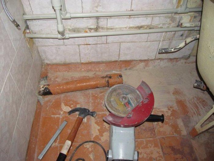 замена канализации