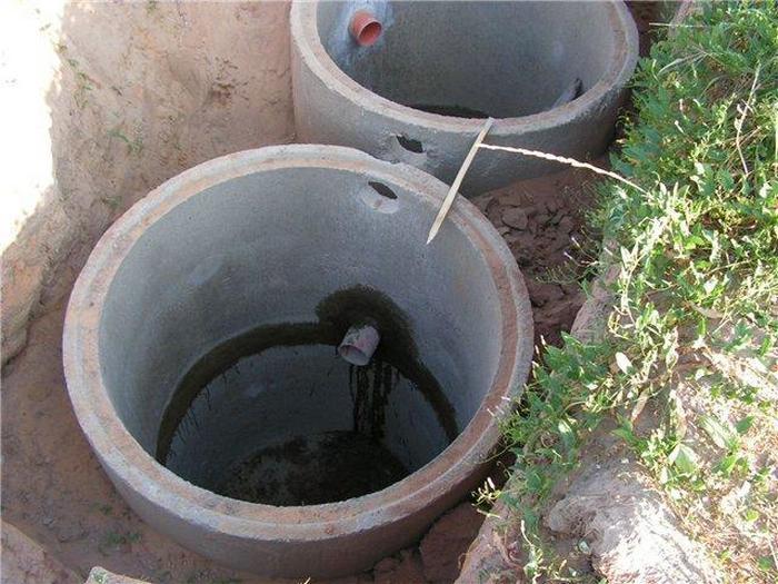 канализация на дачу