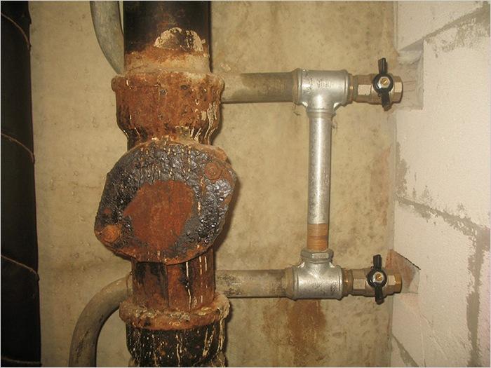 ремонт труб канализации