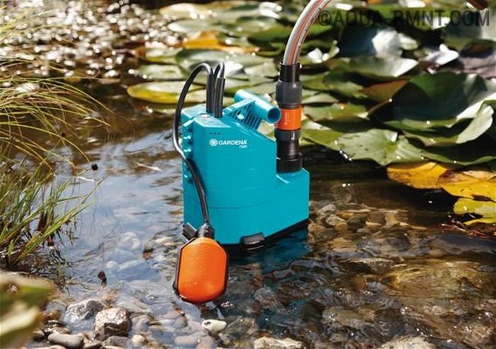 помпа для откачки грязной воды электрическая