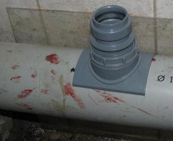 как врезаться в канализацию