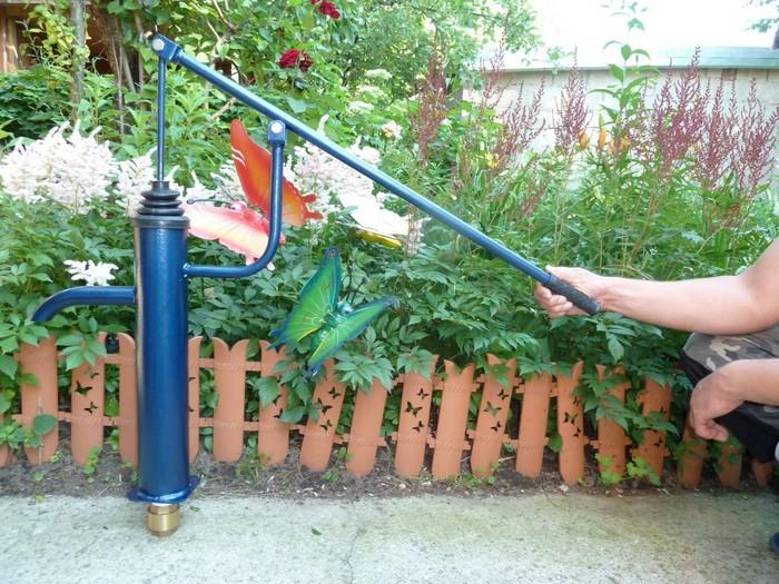 как сделать водяную помпу своими руками