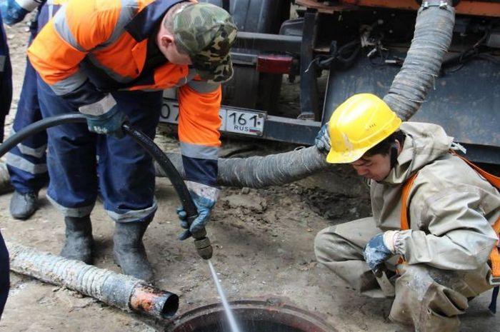 как промыть канализацию
