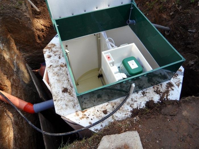 отбор проб сточной воды