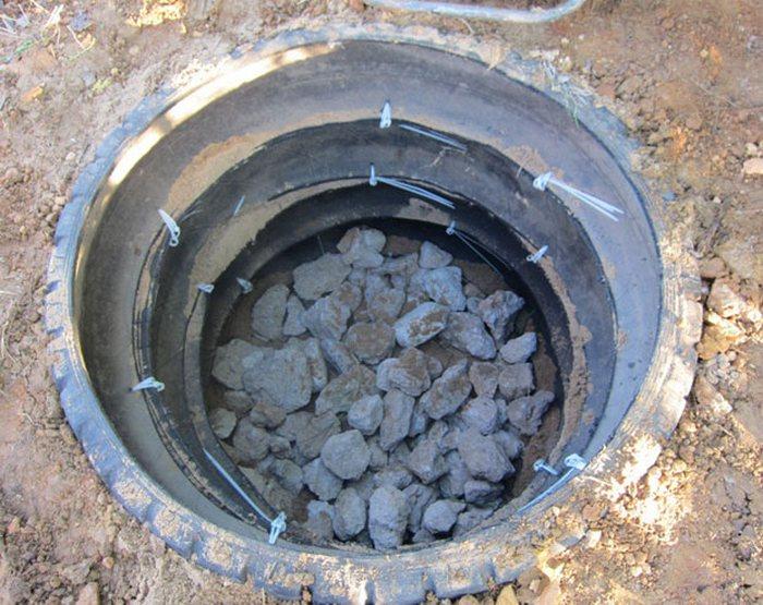 провести канализацию на даче