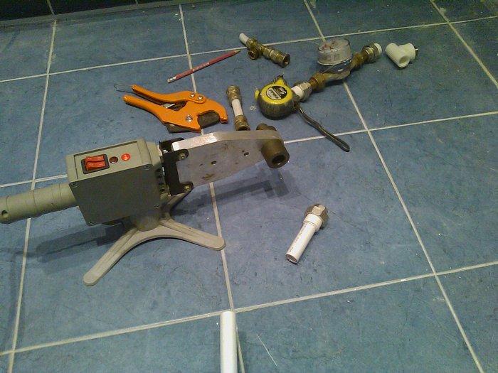 инструмент для пайки пропиленовых труб