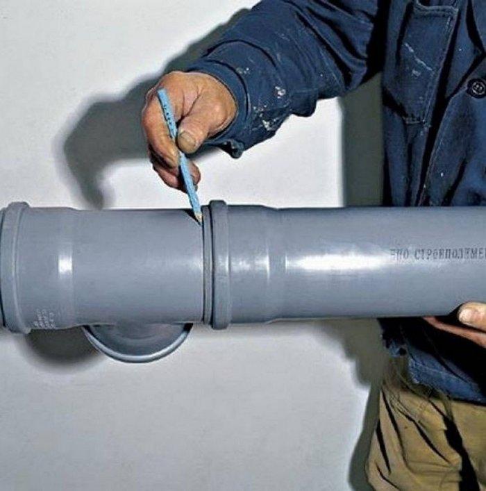 соединение стальной и чугунной трубы